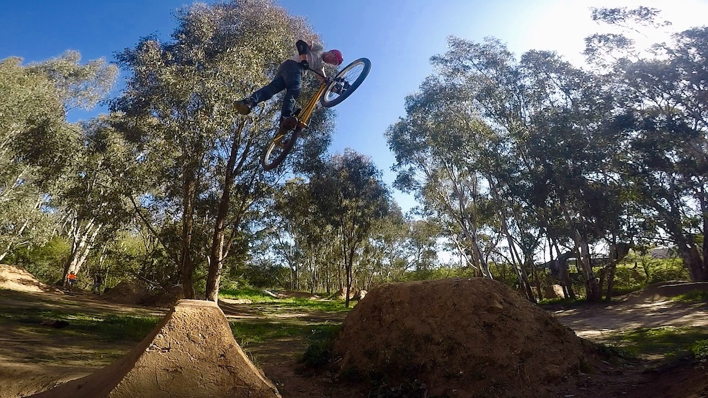 Nac Nac at the Aussy Steeze trails