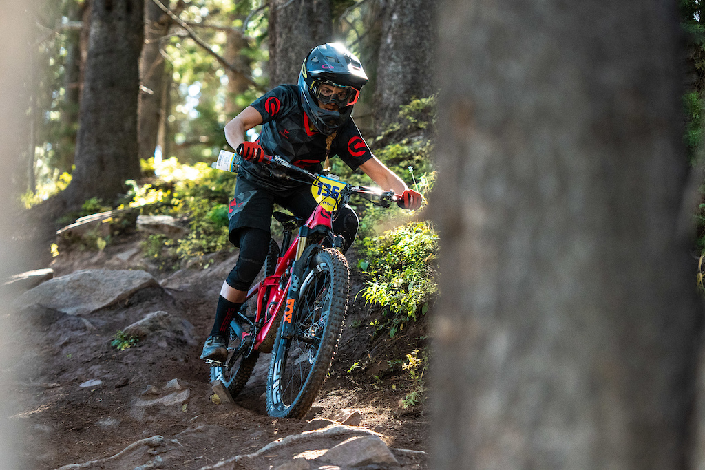 Antonia Wurth keeping it dialed on stage 2.