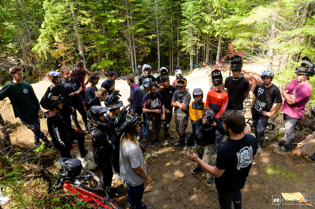 Round em up. Ring leader Jason Lucas lays down the ground rules for the contest.