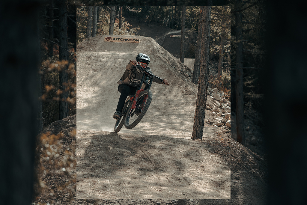 Reed Boggs riding the Hutchinson Griffus Line