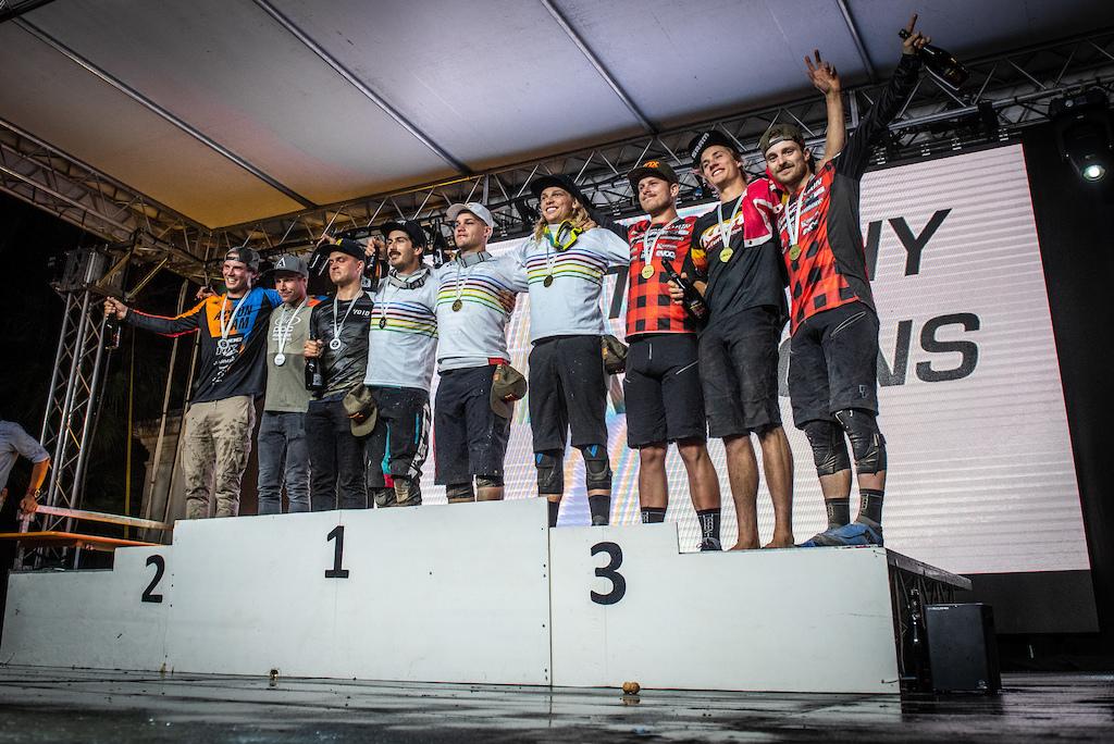 Team Canada Men s podium