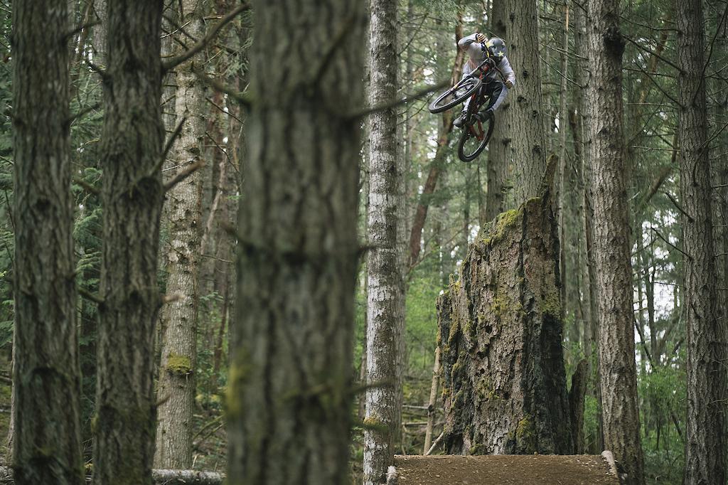 Jordie Lunn on Vancouver Island, British Columbia