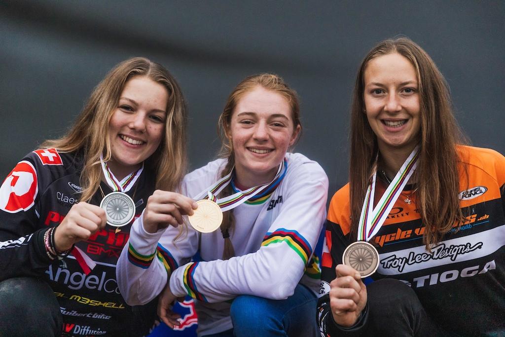 The Female podium