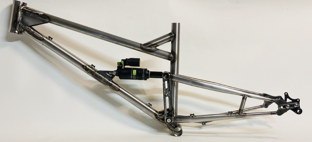 New Custom Ferrum Steel frame.