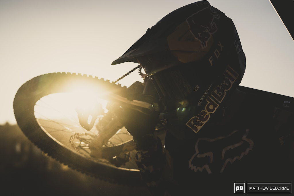 That's all for day one. We will see you tomorrow  with more riding action from the desert.