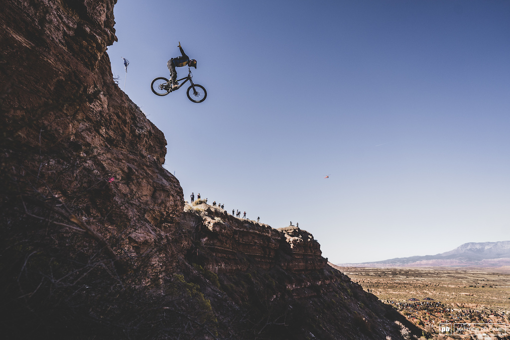 Emil Johansson took 12th at his first rampage.