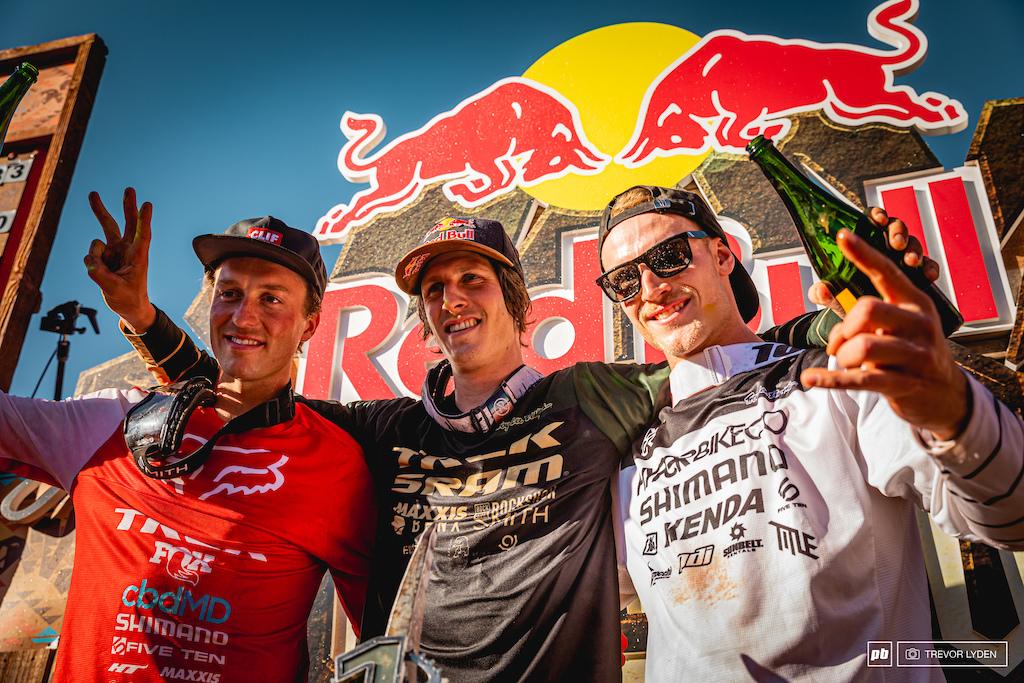 2019 Rampage podium.