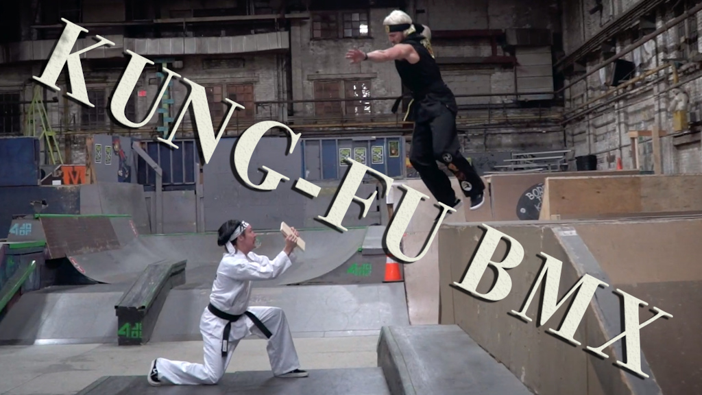 Halloween BMX edit at 4 seasons skatepark!