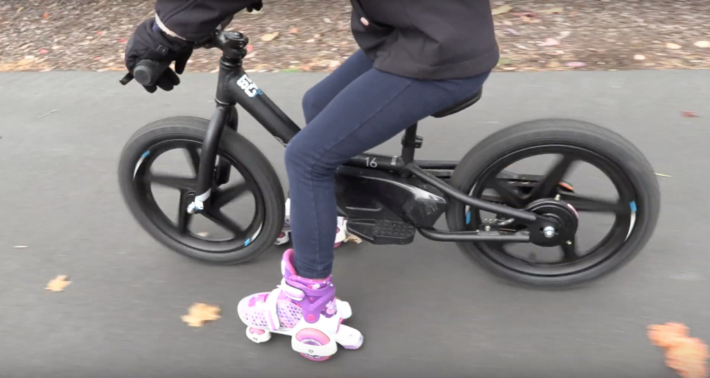 If this isn t the best idea I ve ever seen.... so proud. Stacyc stability cycle roller skates fun.