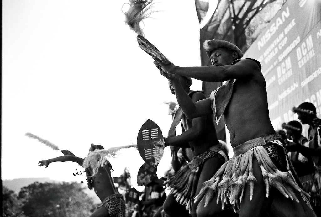 Zulu dance during the award ceremony