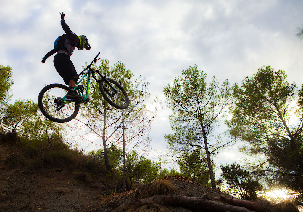 Suicide on the last dirt jump