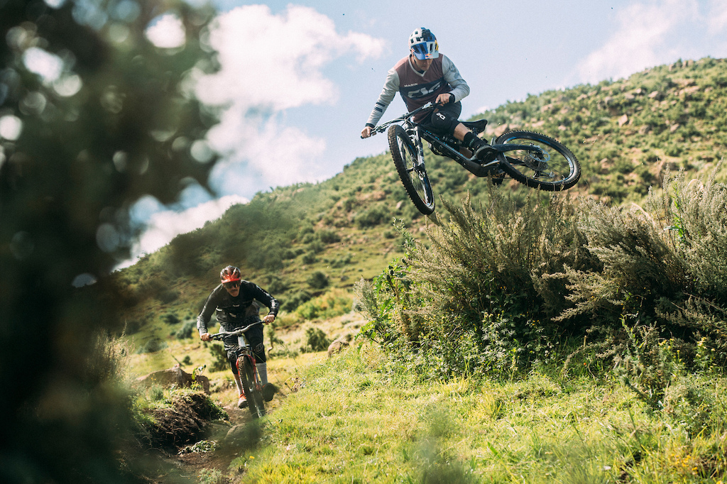 Rob Warner and Matt Jones perform during the filming of Rob Warner s Wild Rides in Lesotho on April 14 2019 Tyrone Bradley Red Bull Content Pool AP-225YKW4SN1W11 Usage for editorial use only