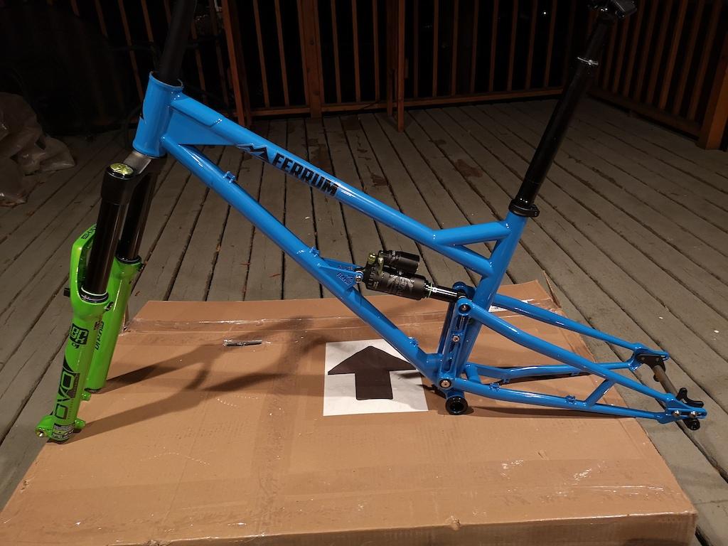 New Ferrum frame set