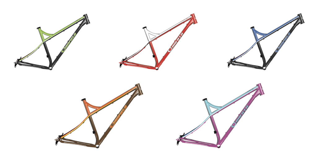 2020 Canfield Nimble 9 Frame Colors