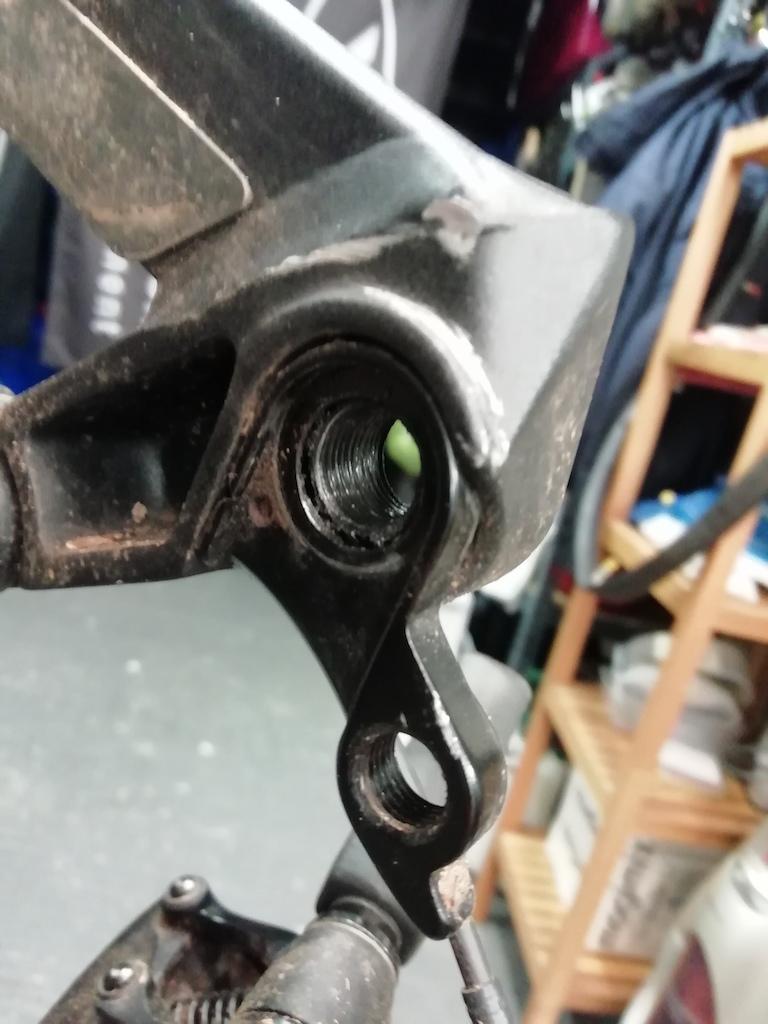 2018 Radon Swoop 170 rear mech hanger