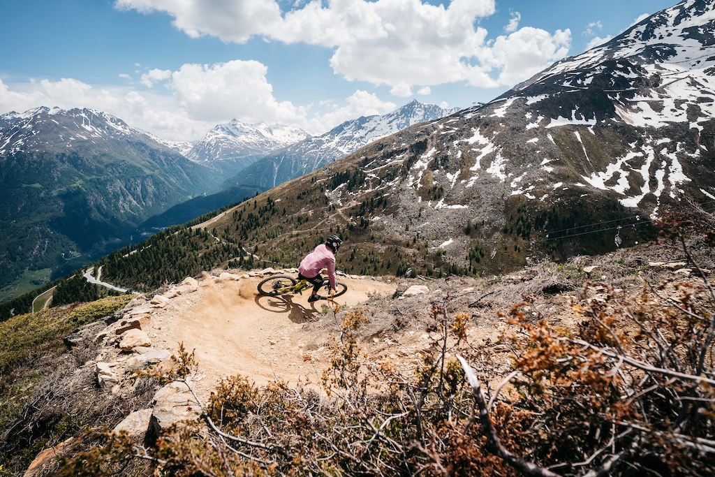 Bike Republic Sölden gahe line ©Ötztal Tourismus/Ian Lean