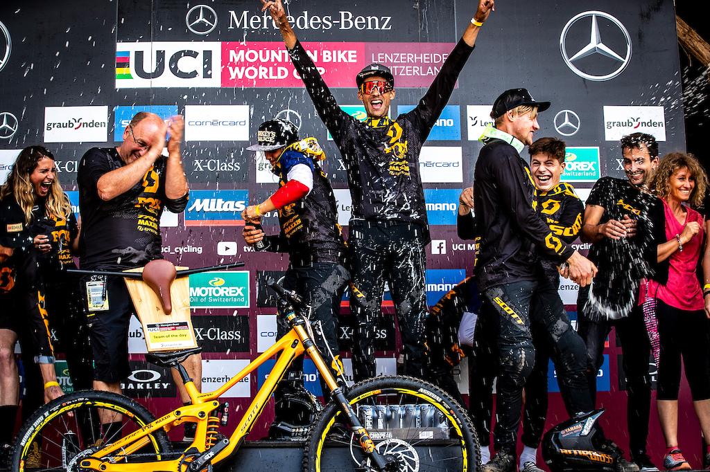 During the UCI MTB World Cup Lenzerheide Switzerland