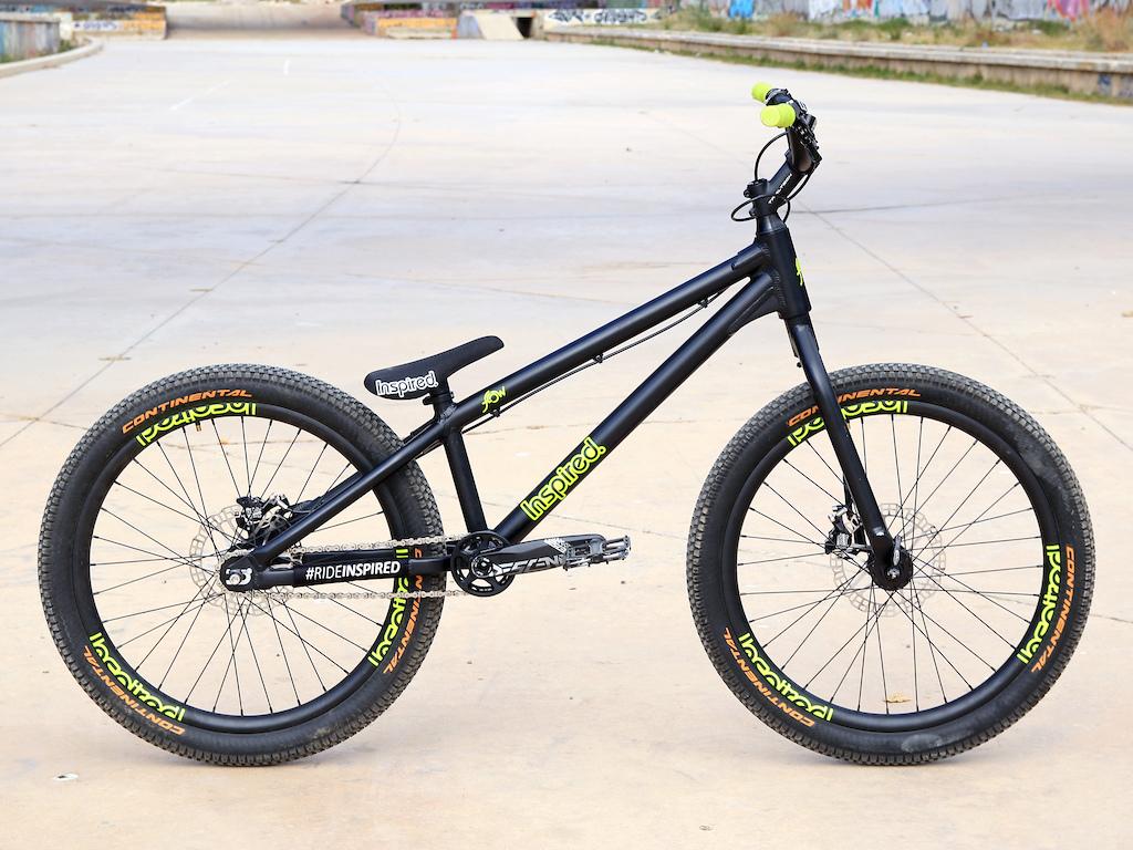 Thom Triboulat s Inspired Flow Plus 24 bike.
