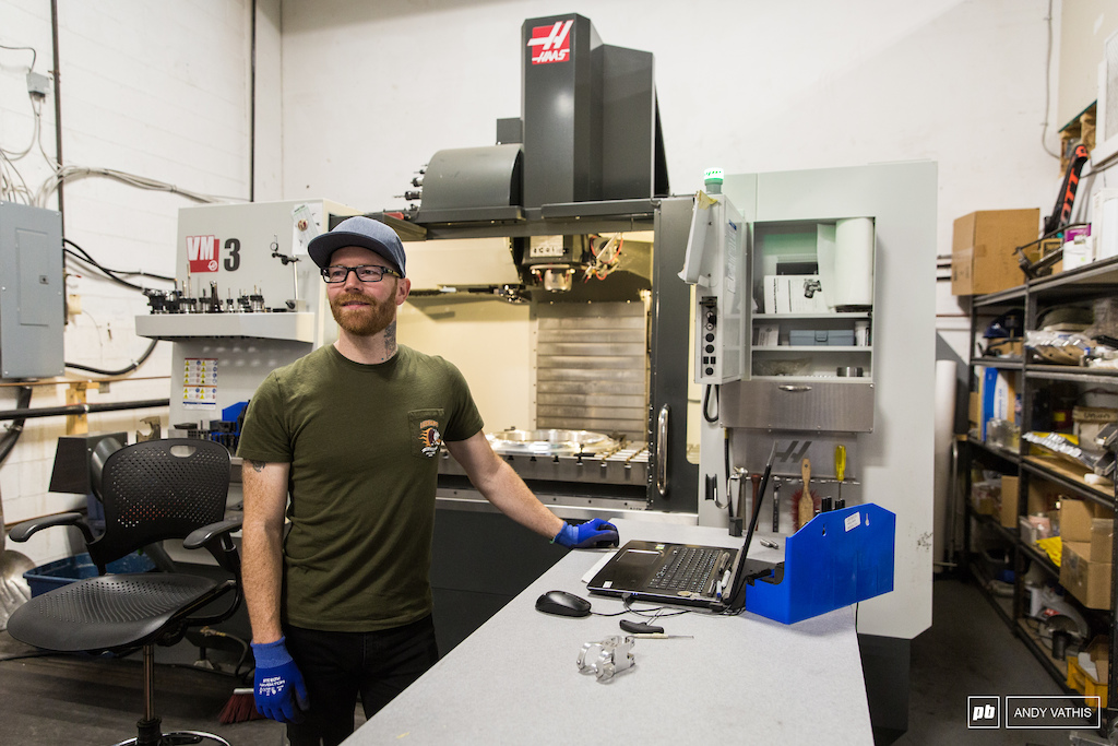 Gilles Corbeil steers the CNC ship.