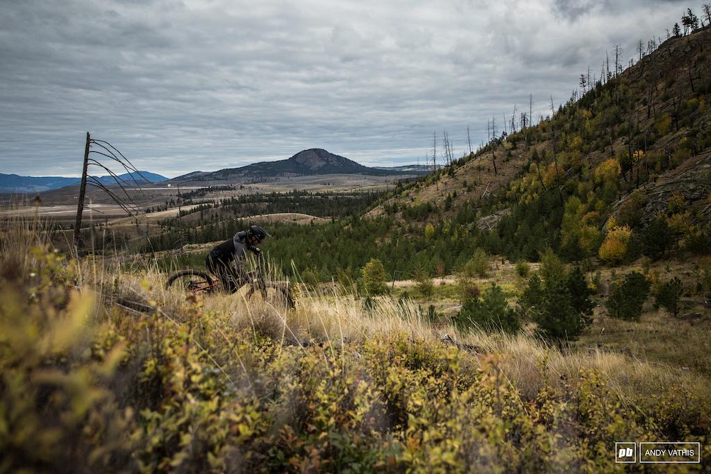 Matt Beer in the Kamloops landscape.