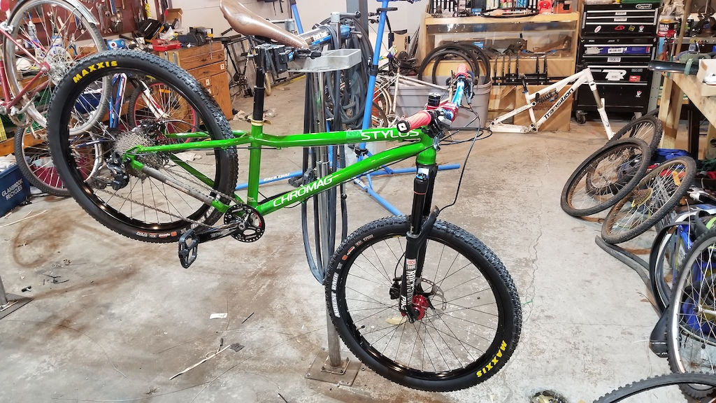 New frame and fork chromag stylus 26