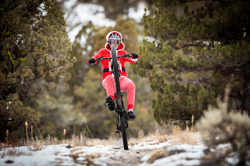 It s fitting that Christmas falls on wheelie wednesday.