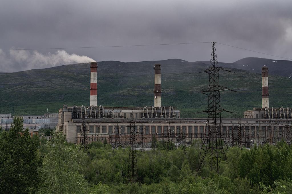 Industrial views of mothe Russia