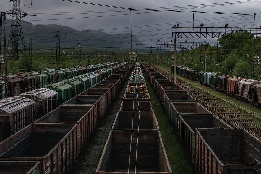 Industrial views of mother Russia
