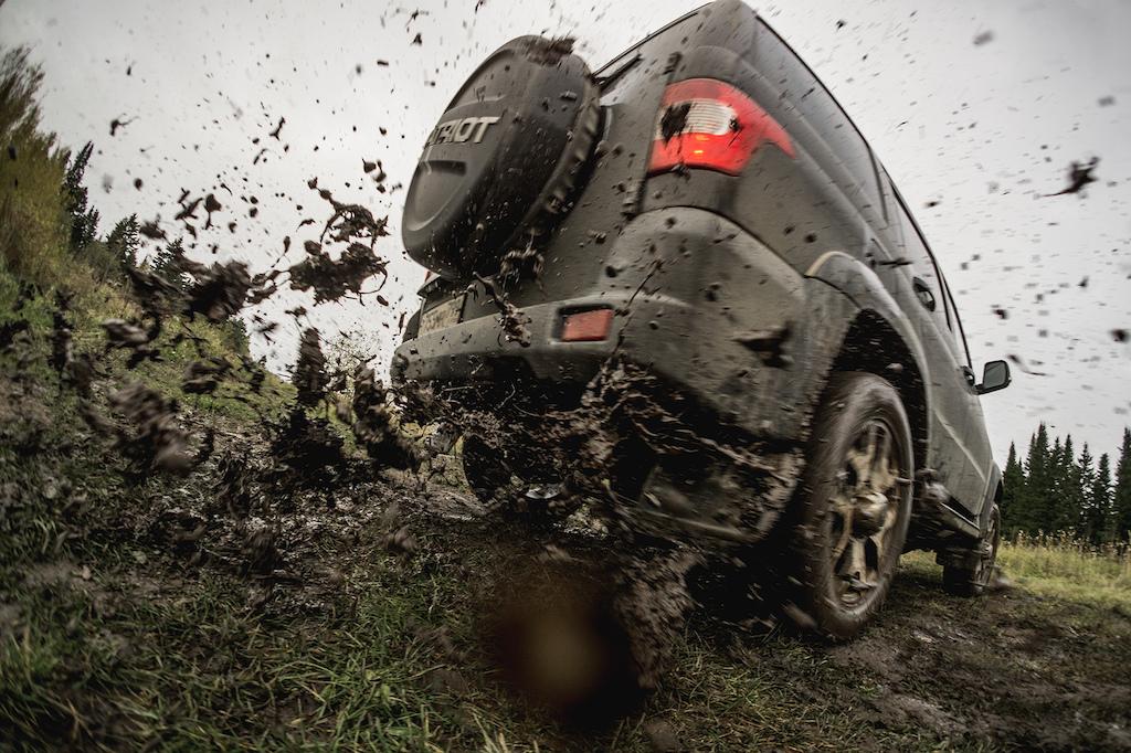 Mud drifting is fun