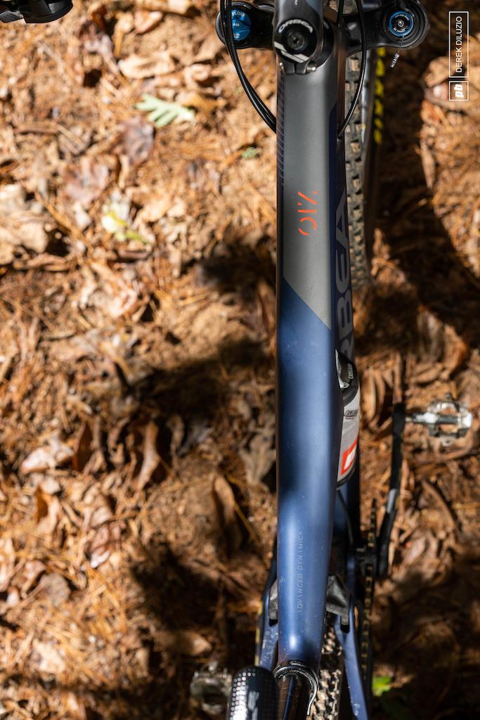 Daniel Sapp mountain bikes near Asheville NC