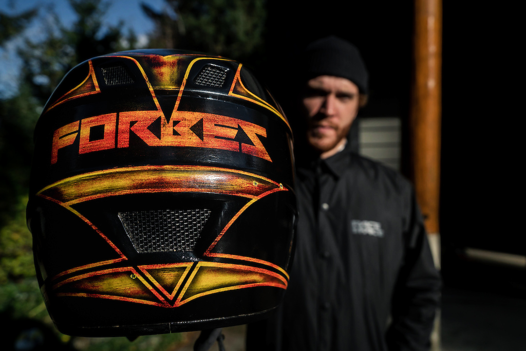 Custom helmet paint project