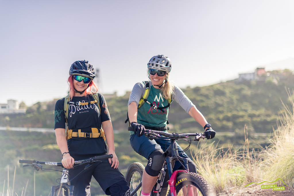 These 2 guarantee some good laughs on and off the trail. You can call them dumb and dumber or tipsy and tipsier. They also shred so try to keep up -