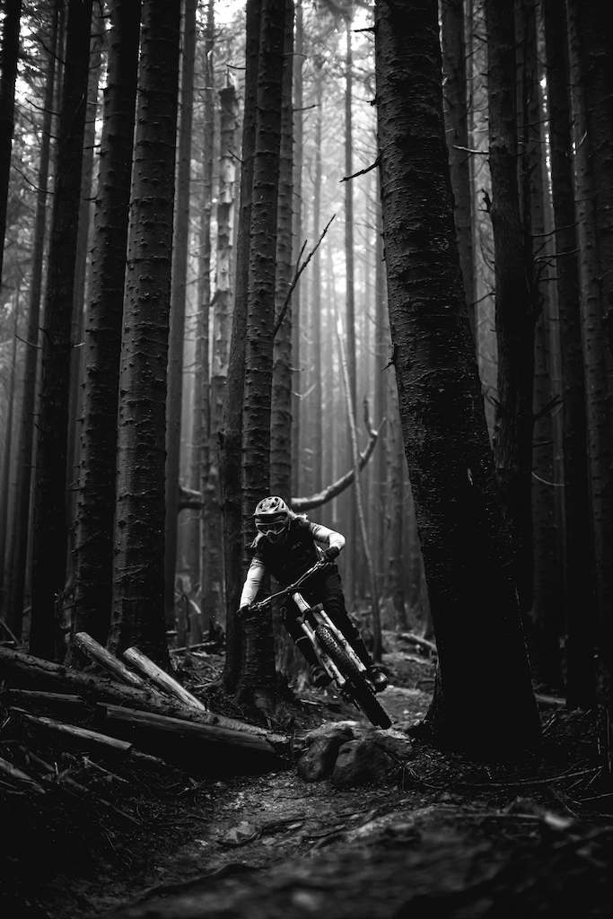 Cody Kelley in the deep darks of the PNW.