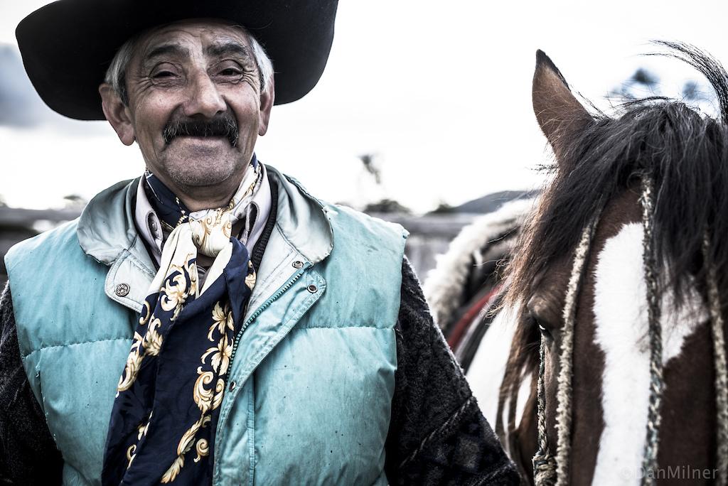 A gaucho near Torres del Paine