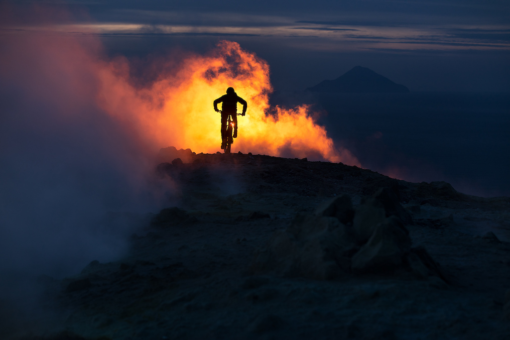 Chasing Volcanoes with Kilian Bron. Photo Jb Liautard jbliautard