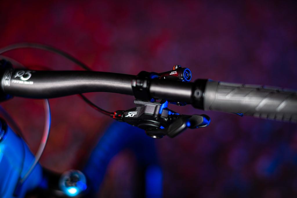 Shimano XT 12 speed I-Spec EV2 mount shifter.