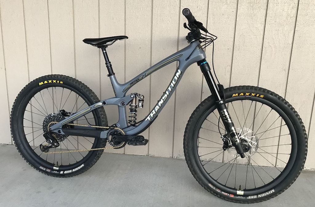 SCJeremy s Custom Transition Patrol with the EXT Storia Shock.
