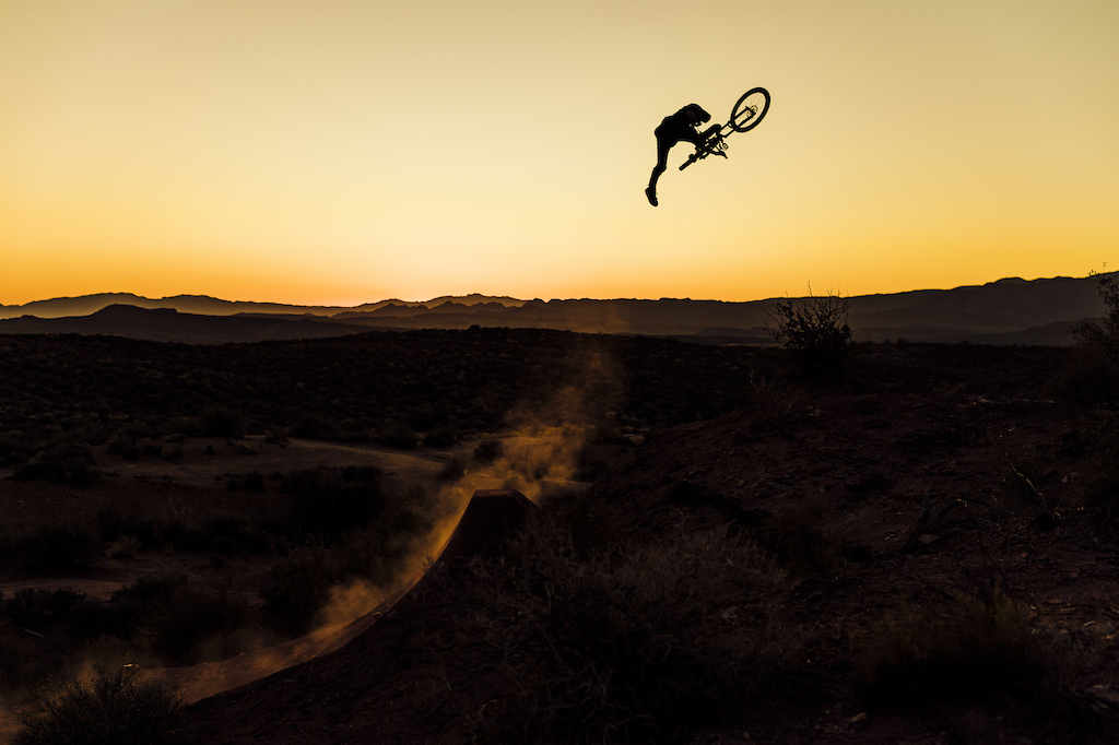 Marcin grew up on the trails doing tricks, and he finally achieved one of his goals to ride in Utah and send big jumps! He's also the main digger of Szymon Godziek at Red Bull Rampage