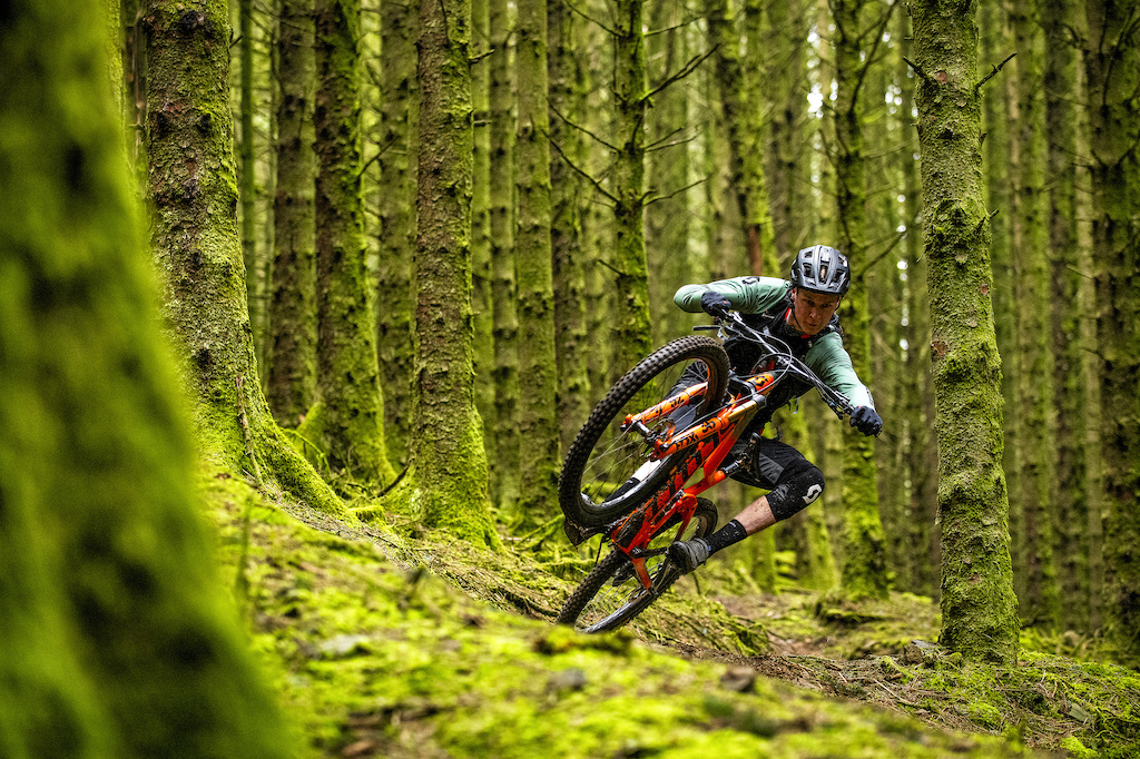 08.04.19. Scotty Laughland at Glyncorrwg for Mountain Biking UK. PIC Andy Lloyd www.andylloyd.photography