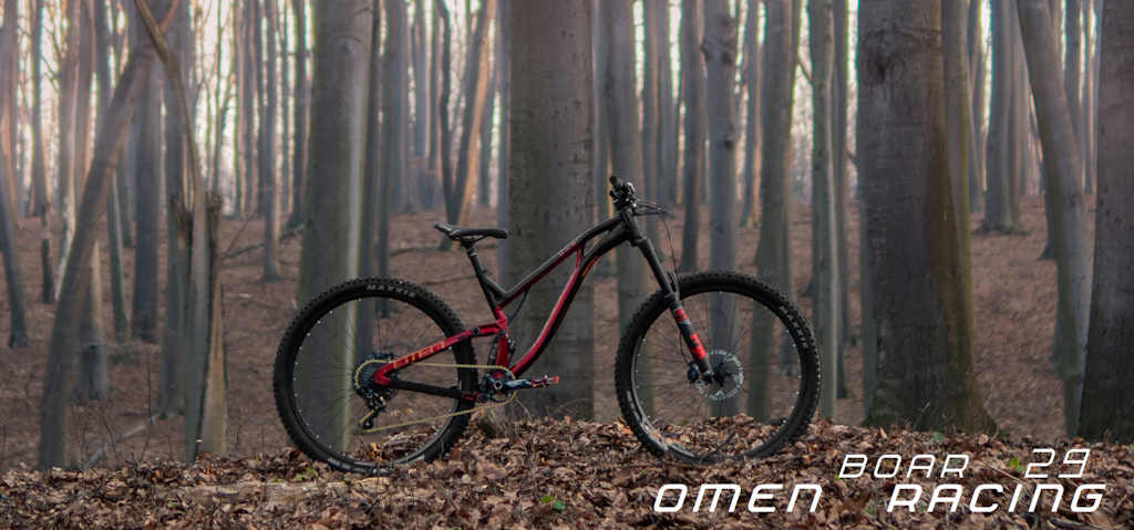 Hand-made geo-adapted to your height or preferences. OMENRACING.com OMEN BOAR 29 167mm Super Enduro. We also build whole bikes with accessories selected by you
