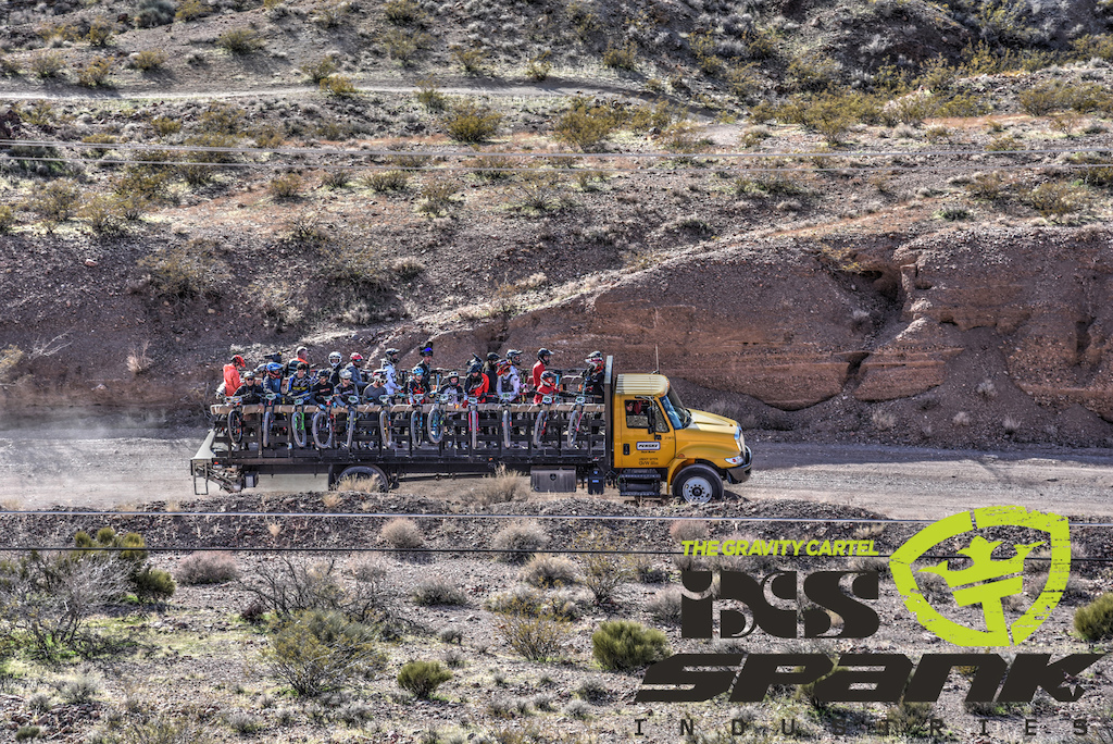 EWS shuttles provided by iXS and Spank USA