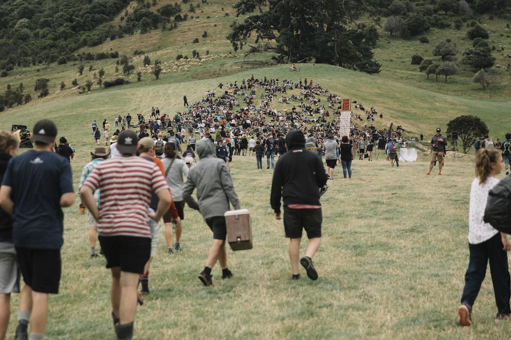 at the Frew's Farm Jam 2020,  Otapiri Gorge, New Zealand