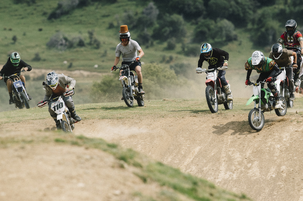 mini motocross the Frew's Farm Jam 2020,  Otapiri Gorge, New Zealand