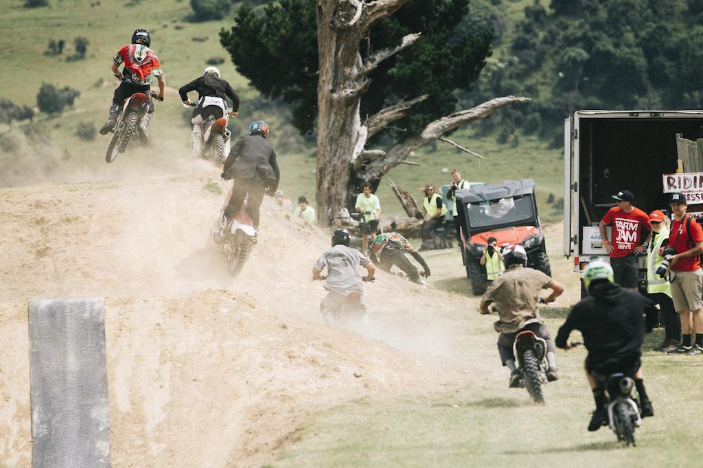 mini motocross the Frew's Farm Jam 2020,  Otapiri Gorge, New Zealand