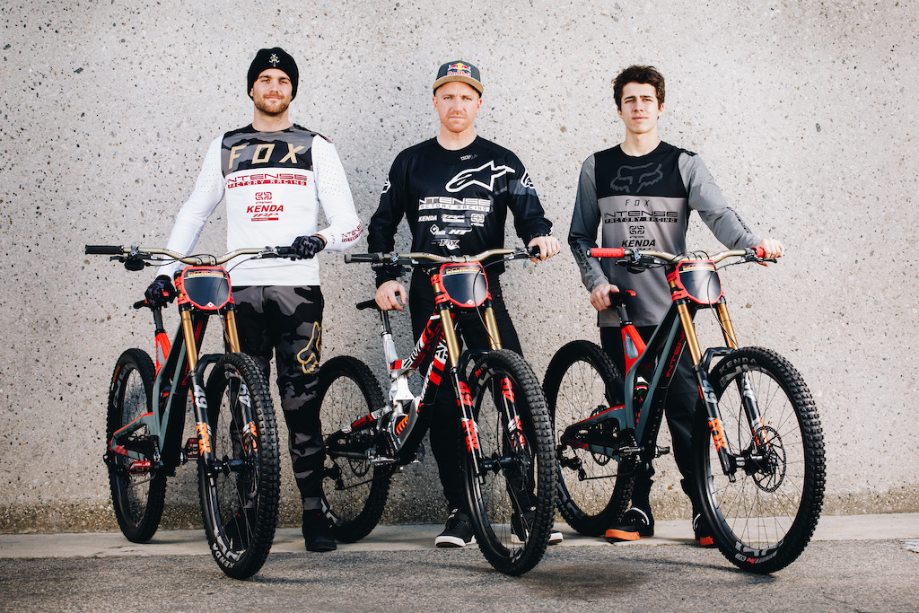 The Intense Cycles 2020 Factory team lineup
