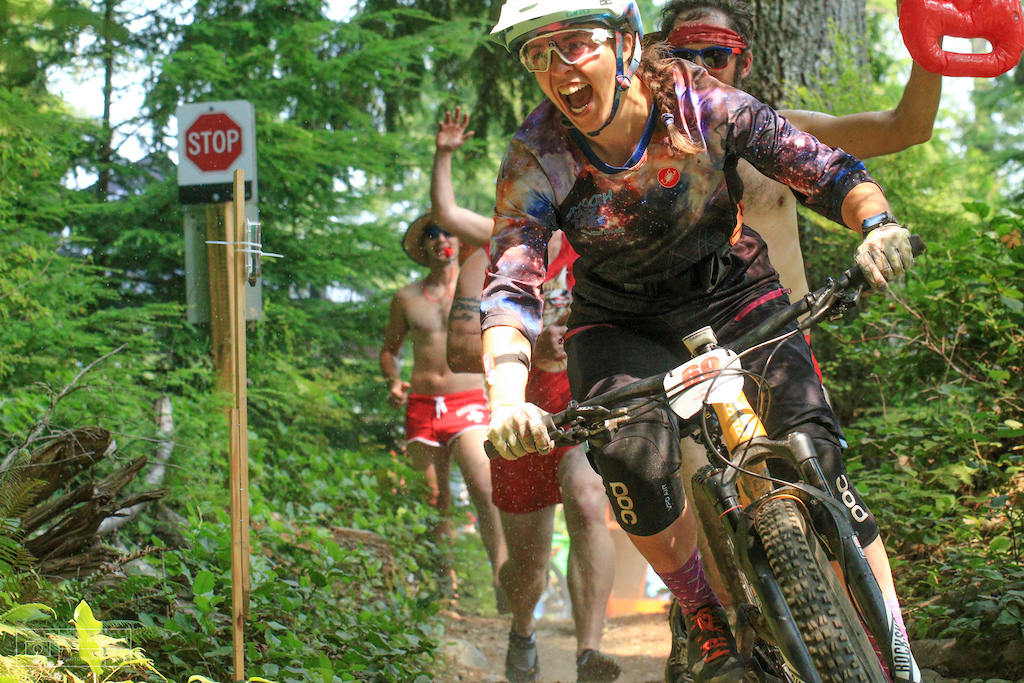 Sturdy Dirty racer chased by Baywatch photo Chris McFarland