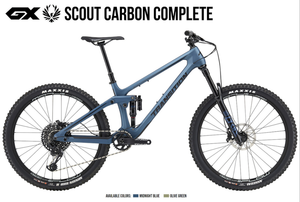 Press release photos for the new Scout.