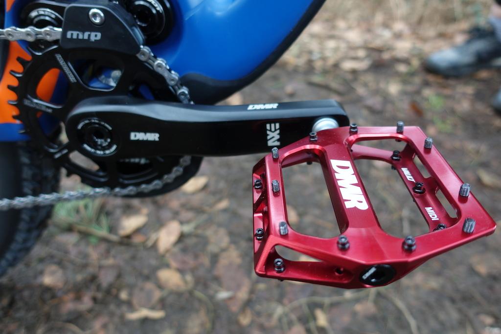 New Pivot Phoenix 29er Ohlins TTX shock Ohlins DH 38 fork DMR cranks chain ring pedals seat handlebars grips