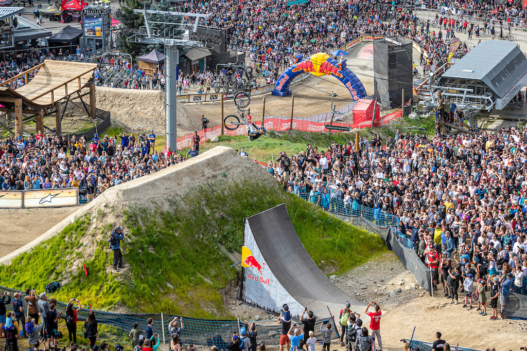 Emil Johansson performs at Red Bull Joyride in Whistler Canada on August 17 2019 Scott Serfas Red Bull Content Pool