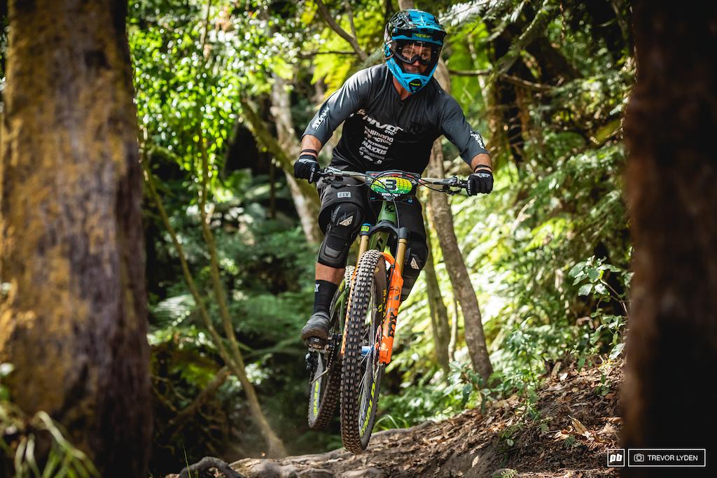 Matt Walker, looking just good on and off the bike.